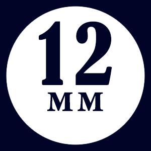 Толщина доски - 12